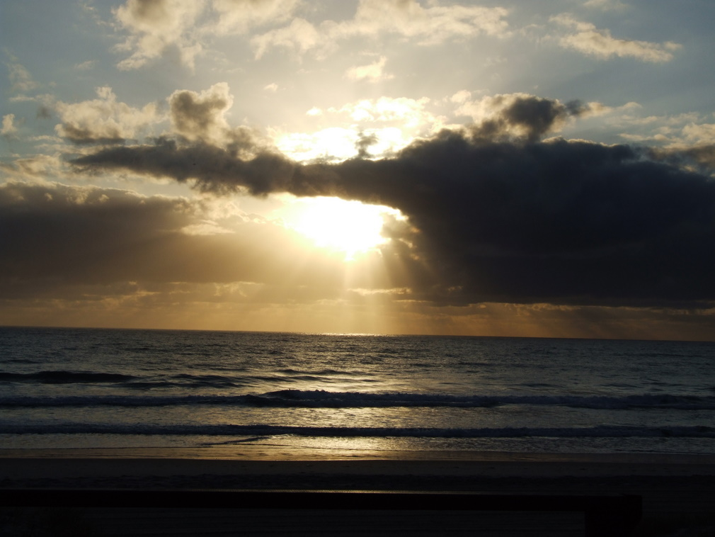 Light through Clouds, Burleigh Heads